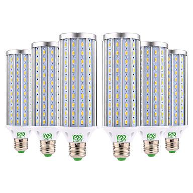 abordables Ampoules électriques-ywxlight® e27 5730smd 45w 140led blanc froid blanc chaud blanc naturel haute luminosité led ampoule led lampes ampoule de maïs ac 85-265v