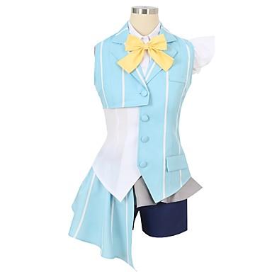 Zainspirowany przez Macross Frontier Cosplay Anime Kostiumy cosplay Garnitury cosplay Inne Krótki rękaw Krawat / Koszula / Top Na Męskie / Damskie
