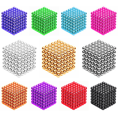 cheap Toys & Games-216*2 pcs 3mm Magnet Toy Magnetic Balls Building Blocks Super Strong Rare-Earth Magnets Neodymium Magnet Stress and Anxiety Relief Office Desk Toys DIY Kid's / Adults' / Children's Unisex Boys' Girls'