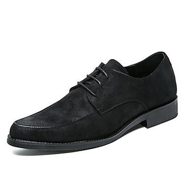 בגדי ריקוד גברים נעליים פורמליות דמוי עור אביב / קיץ נעלי אוקספורד שחור