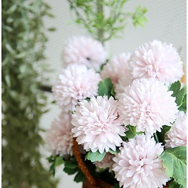 פרחים מלאכותיים 1 ענף כפרי / ארופאי יקינתון פרחים לשולחן