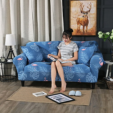 Super Contemporary 100 Polyester Jacquard Loveseat Cover Simple Floral Animal Print Printed Slipcovers Machost Co Dining Chair Design Ideas Machostcouk