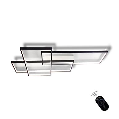Moderno/Contemporâneo Regulável Dimmable Com Controle Remoto Montagem do Fluxo Luz Ambiente Para Sala de Estar Quarto Interior Branco