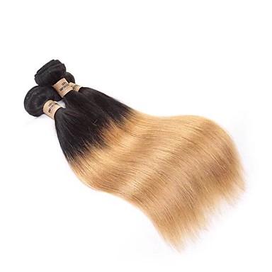 Włosy virgin / Włosy naturalne remy Splot włosów Człowiek splot Prosta Włosy brazylijskie 300 g 12 miesięcy Festiwal