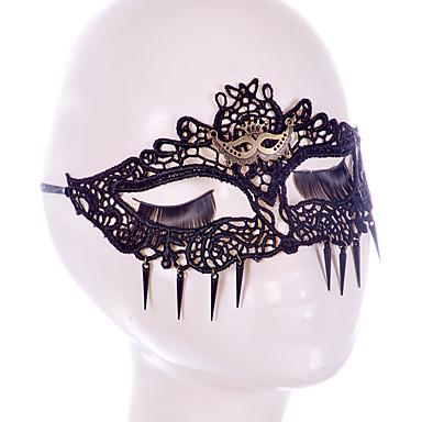 voordelige Maskers voor de feestdagen-Halloweenmaskers Hallloween figuren Halloween Accessoires Gevlochten Vezel Artistiek / Retro Gezicht Nieuw Design sexy Lady voortreffelijk comfy Klassiek Thema Vakantie Sprookjes Thema Romantiek