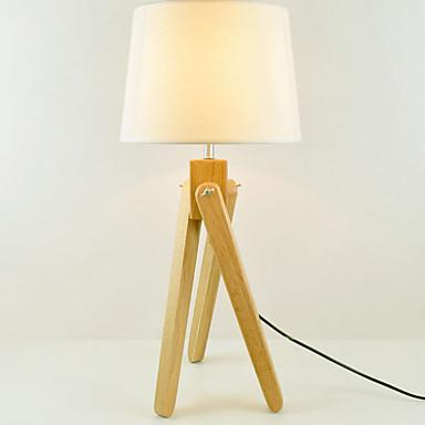 Nowoczesny Dekoracyjna Lampa stołowa Na Drewno / Bambus 220-240V
