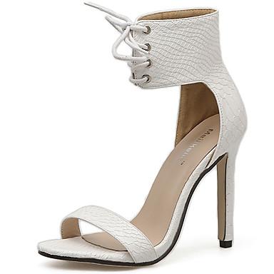 Mujer Zapatos Piel Otoño / Invierno Gladiador / Pump Básico Tacones Tacón Cuadrado Dedo Puntiagudo Negro / Wine / Fiesta y Noche v1W7dQW