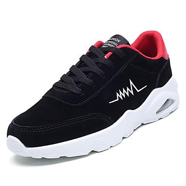 בגדי ריקוד גברים גומי אביב / סתיו נוחות נעלי אתלטיקה שחור וזהב / שחור לבן / שחור אדום