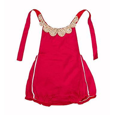 Dziecko Dla dziewczynek Geometric Shape Bez rękawów Bawełna Body / Śłodkie