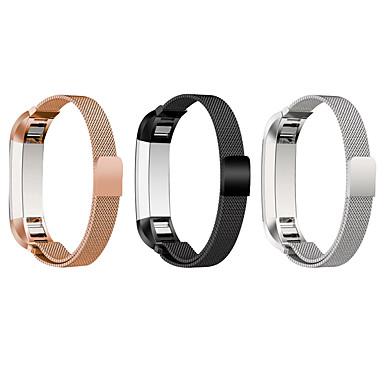 Klokkerem til Fitbit Alta Fitbit Milanesisk rem Metall Rustfritt stål Håndleddsrem