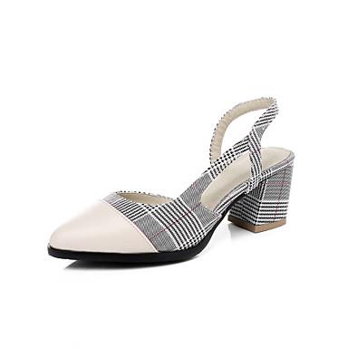 Sandales Bottier Sandales pointu Printemps Vert Chaussures Bout Confort 06612033 Femme à Talon Rouge Eté Similicuir talons 407nXxqR