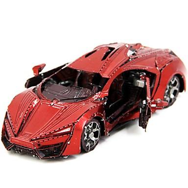 voordelige 3D-puzzels-3D-puzzels Creatief Focus Toy Handgemaakt Voertuigen Staande Stijl Speelgoed Racewagen Geschenk
