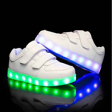 261f755ca7f Χαμηλού Κόστους Shoes Trends-Αγορίστικα / Κοριτσίστικα Παπούτσια PU  Καλοκαίρι / Φθινόπωρο Φωτιζόμενα παπούτσια Αθλητικά