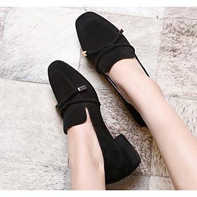 Bottier Rose Mocassins Chaussures Talon Printemps Automne Confort Cuir Nubuck Gris Femme 06627972 Chaussons et D6148 Noir 16PCqF