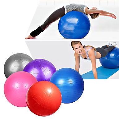 95cm Egzersiz Topu Fitness Topu Profesyonel Patlama-Proof Kalın Yoga Pilates Fitness Denge Eğitim PVC