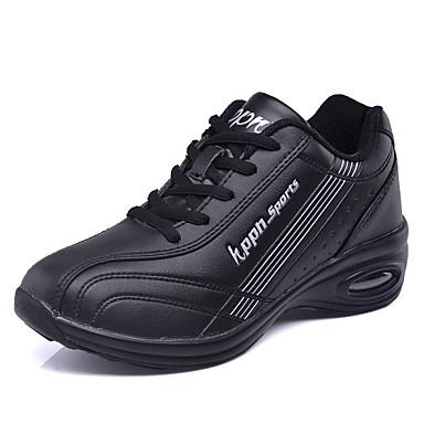 Confort Noir Printemps Femme Automne Chaussures Rouge Plat blanc Polyuréthane Basket 06626814 Talon Noir ZxaIa8w4