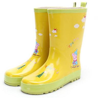 baratos Sapatos de Criança-Para Meninos / Para Meninas Borracha Botas Criança (9m-4ys) / Little Kids (4-7 anos) / Big Kids (7 anos +) Botas de Chuva Amarelo / Azul Outono / Inverno