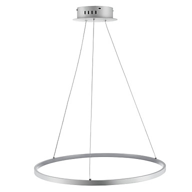 Ecolight™ 1-Light Circular Pendant Light Ambient Light  Acrylic LED 110-120V / 220-240V with Warm White / White / Dimmable With Remote Control LED Light Source Included
