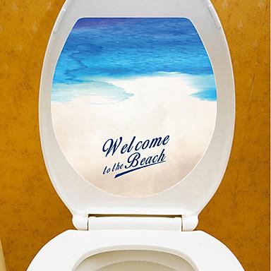 Adesivo adesivi decorativi da parete adesivi toilet for Adesivi decorativi da parete