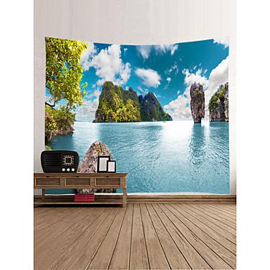 Th me jardin paysage d coration murale 100 polyester moderne classique art mural tapisseries - Decoration murale jardin ...