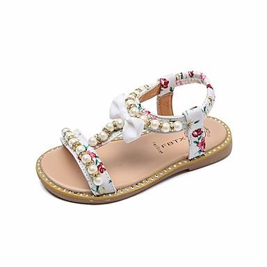 f5af0d6a0 Girls' Leatherette Sandals Toddler(9m-4ys) / Little Kids(4-7ys) Comfort  White / Black / Pink Summer