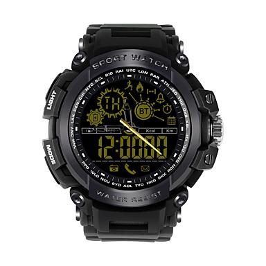 JSBP DX16 Wielofunkcyjny Inteligentny zegarek Android iOS Bluetooth Kontrola APP Spalonych kalorii Współpracuje z iOS i system Android. Powiadamianie o wiadomości Powiadamianie o połączeniu / Stoper
