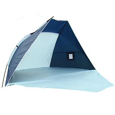 2 személy Kempingmatrac / Šator za plažu kemping sátor Külső Összecsukható sátor UV védelem mert Kempingezés és túrázás Egyéb Anyag