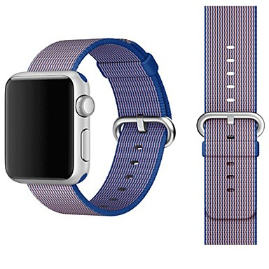 Urrem for Apple Watch Series 3 / 2 / 1 Apple Klassisk spænde Nylon Håndledsrem