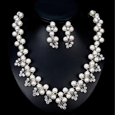 Damskie Biżuteria Ustaw - Europejskie, Moda Zawierać Srebrny Na Ślub Codzienny