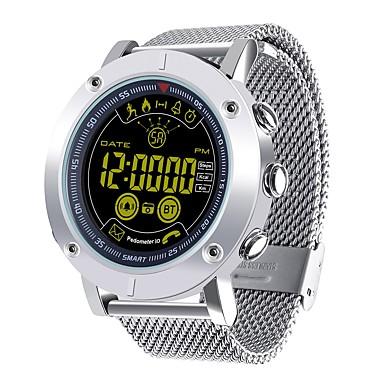 JSBP EX19 Wielofunkcyjny Inteligentny zegarek Android iOS Bluetooth Kontrola APP Spalonych kalorii Współpracuje z iOS i system Android. Powiadamianie o wiadomości Powiadamianie o połączeniu / Stoper