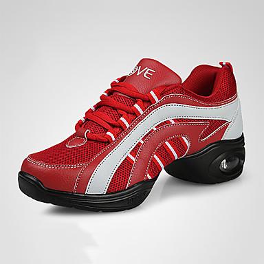 les baskets croûton personnalisables similicuir danse chaussures chaussures de de de danse Rouge  / marine / noir / rouge 1e96ec