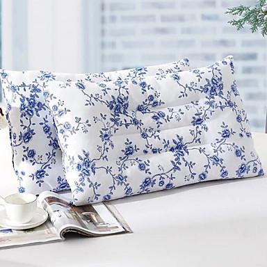 wygodna-najwyższej jakości poduszka na łóżko z poliestru wygodna poduszka z szarego puchu z bawełny poliestrowej