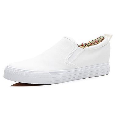 messieurs et mesdames < < mesdames les chaussures de confort de baskets en toile automne croûton blanc / noir < respectueux de l'environneHommes t 88b4c0