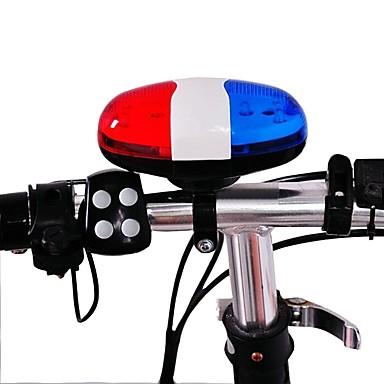 billige Sykkeltilbehør-Sykkelklokke alarm Holdbar Anti-Sjokk Til Vei Sykkel Fjellsykkel Sykkel med fast gir Sykling Plastikker Blå
