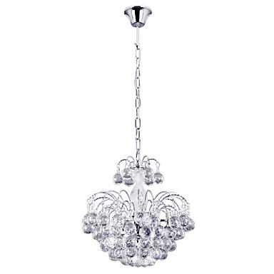 Lightinthebox Modern / Zeitgenössisch Kronleuchter Moonlight - Kristall, 110-120V 220-240V Inklusive Glühbirne