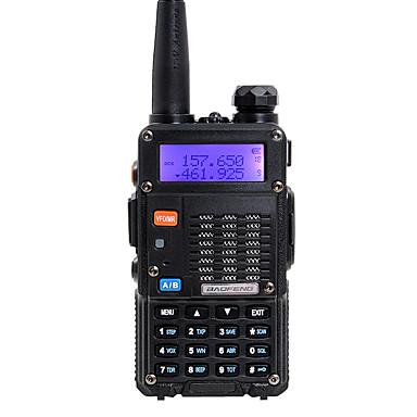 baofeng ручной двухдиапазонный 5км-10км 5км-10км рация двусторонняя радиосвязь / 136-174мГц / 400-480мГц домофон малая радиопередача prefessional fm transceiver