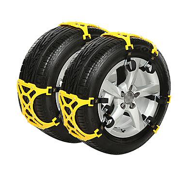 6szt Samochód Łańcuchy śniegowe Biznes Typ klamry For Koło samochodowe For Audi A4L / Q5 / Q7 Wszystkie roczniki