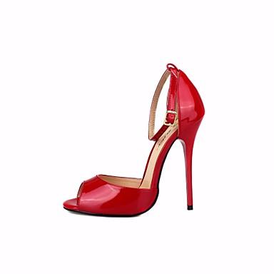 Aiguille Basique Escarpin Printemps 06666980 Rouge à Noir Femme Chaussures Chaussures Talon Talons Polyuréthane Zqzwnx1U