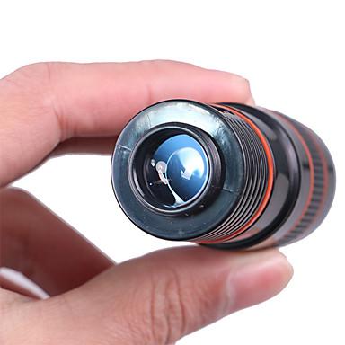 cheap Binoculars, Monoculars & Telescopes-8 X 18 mm Monocular Roof Portable Multi-coated BAK4 Hiking Camping Traveling Plastic Shell