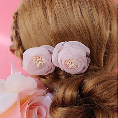 Șifon Ornamente de Cap cu Floral 1 Bucată Nuntă / Ocazie specială Diadema