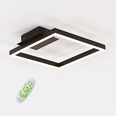 Linear Flush Mount Ambient Light - Bulb Included, 110-120V / 220-240V, Warm White / White / Dimmable With Remote Control, LED Light