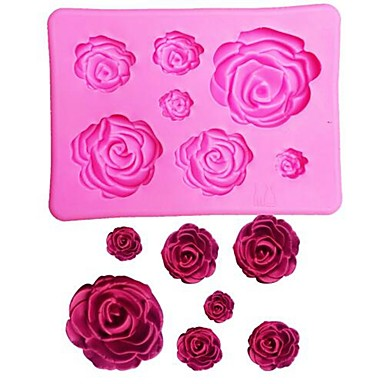Bakeware tools Silicone Gel Valentine's Day / 3D Cake Cake Molds 1pc