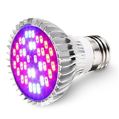 1pc 7 W 600 lm E26 / E27 Groeiende gloeilamp 40 LED-kralen SMD 5730 Decoratief Koel wit / Rood / Blauw 85-265 V / RoHs / FCC