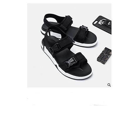 Męskie Buty Lycra / Nylon Lato Comfort Sandały Black