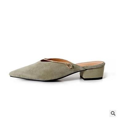 Noir Mules Sabot Bottier Cuir Femme Eté Talon Confort Orange Chaussures amp; 06681399 Gris 8YqIqzw