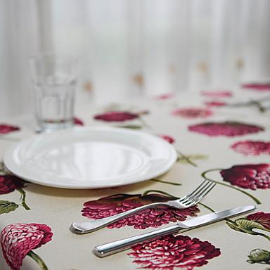 Na co dzień PVC / Włókniny Kwadrat Podkładki Haft Dekoracje stołowe 1 pcs