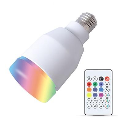 YouOKLight 1 szt. 5 W 600 lm E26 / E27 Inteligentne żarówki LED 27 Koraliki LED SMD Mądry / Bluetooth / Zdalnie sterowana Biały 220-240 V / 110-130 V