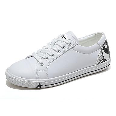 Talon Printemps 06681761 Chaussures Noir Confort et Polyuréthane Basket Plat Femme Blanc vert blanc wqRXTxX