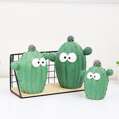 저렴한 노블티&개그 장난감-저금통 꽃 테마 선인장 창조적 10대 아동 남아 여아 장난감 선물
