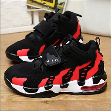 Rouge Confort Talon Plat Printemps Chaussures d'Athlétisme été 06681684 Femme Chaussures Polyuréthane rond Bout Fuchsia blanc Noir q7UBIU